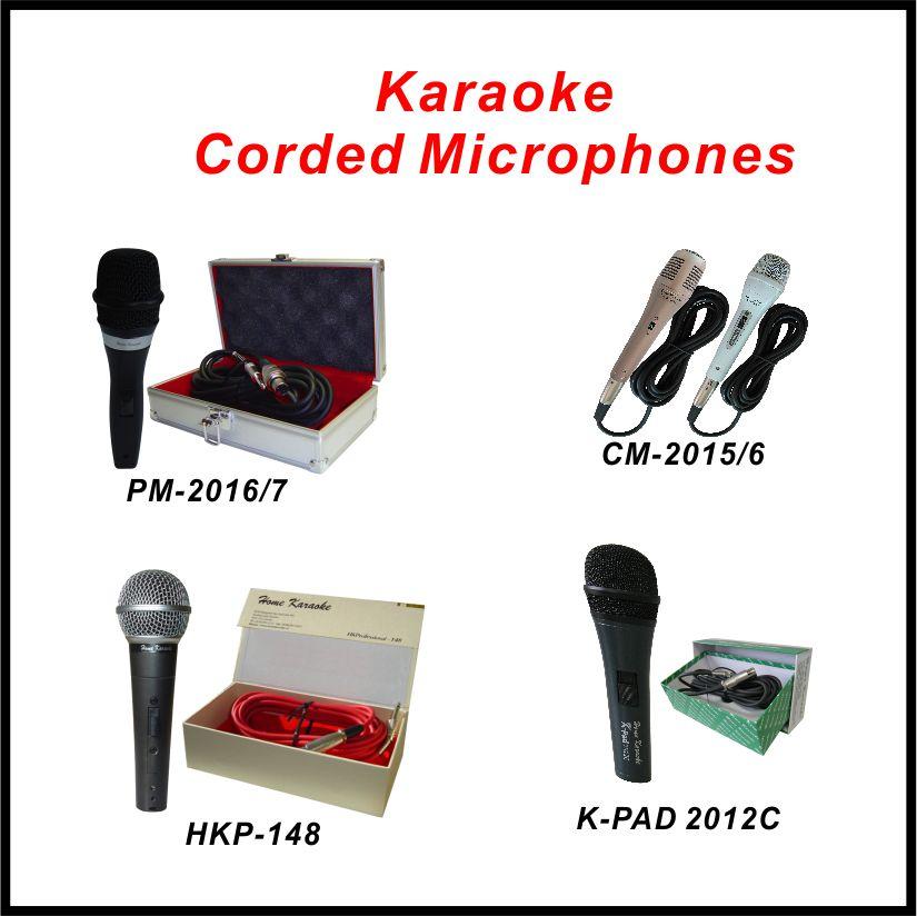 Karaoke Corded Microphones