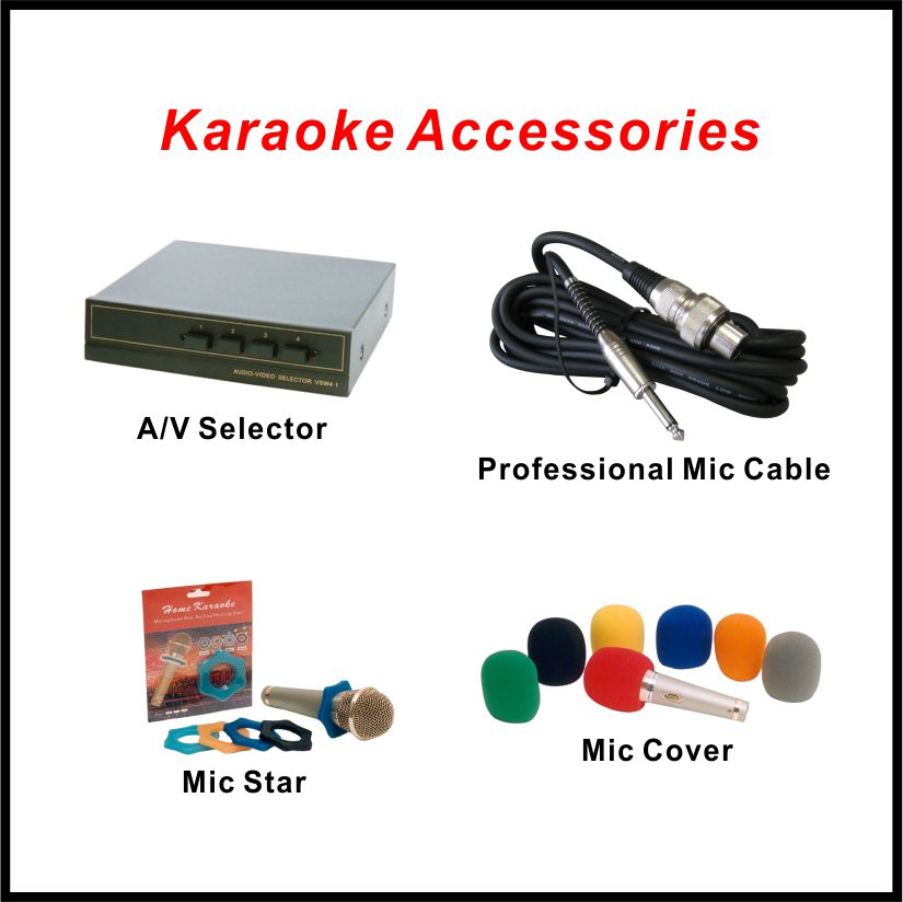 Karaoke Accessories