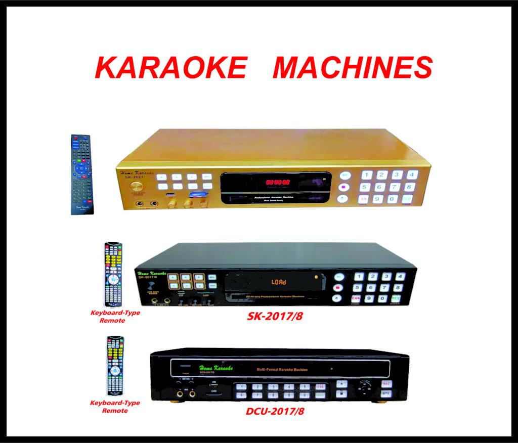 Karaoke Machines