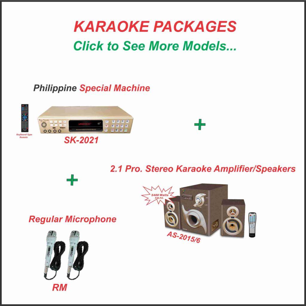 Karaoke Packages