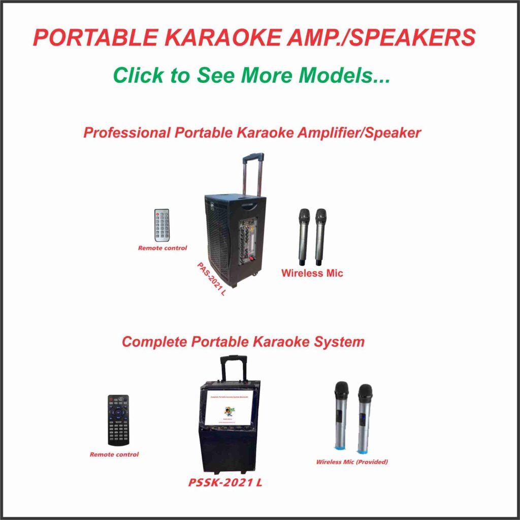 Portable Karaoke Amp/Speakers